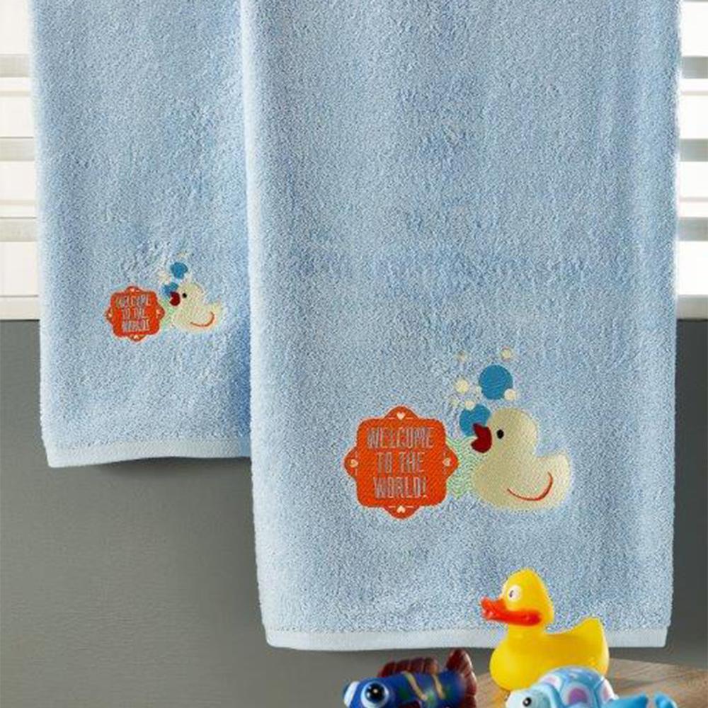 Παιδικές Πετσέτες (Σετ 3τμχ) Whitegg T028/2 Ciel