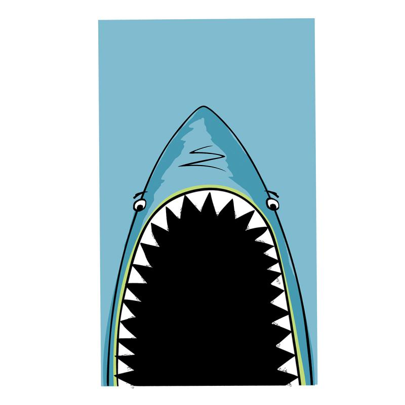 Παιδική Πετσέτα Θαλάσσης Nef-Nef Shark Jaws