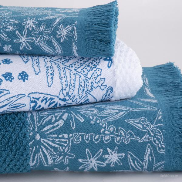 Πετσέτα Χεριών (30x50) Nef-Nef Elvira Blue