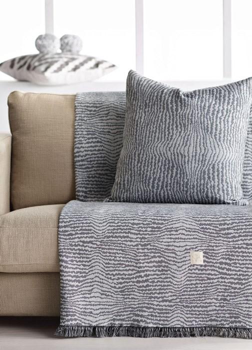 Διακοσμητική Μαξιλαροθήκη Gofis Home Fusion 387 Grey