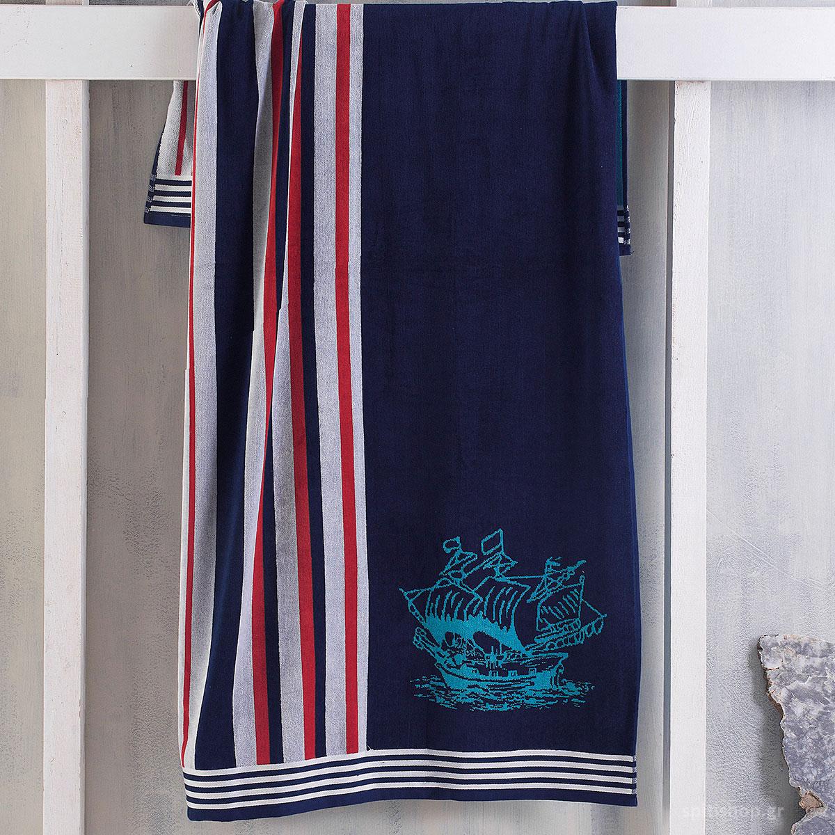 Πετσέτα Θαλάσσης Rythmos Captain