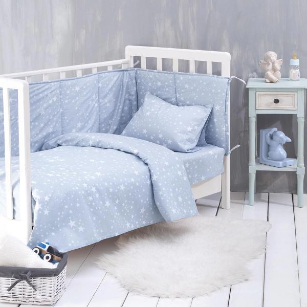Πάπλωμα Κούνιας Rythmos Baby Estella Ciel