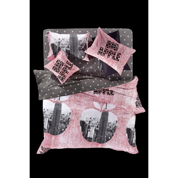 Παπλωματοθήκη Υπέρδιπλη (Σετ) Nima Cotton 'N Style Big Apple 02