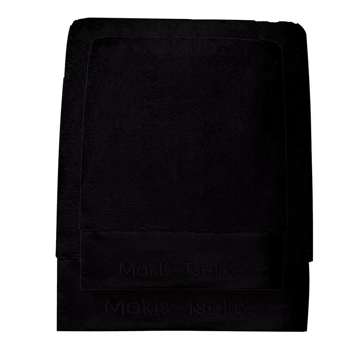 Πετσέτες Μπάνιου (Σετ 3τμχ) Makis Tselios Feel 4 Black