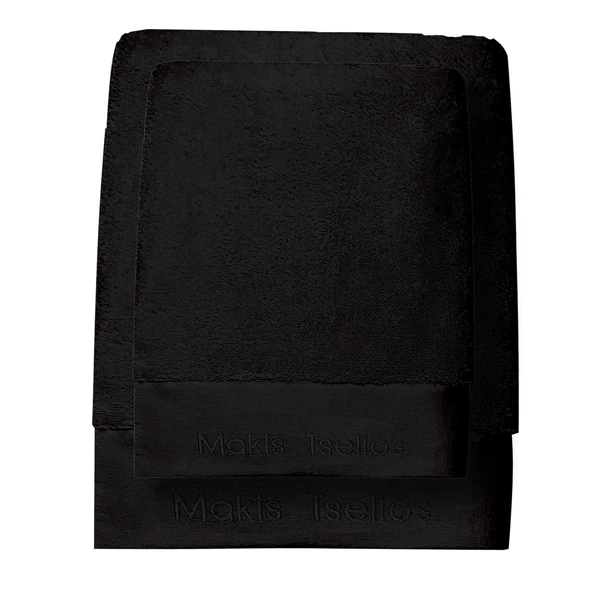 Πετσέτες Μπάνιου (Σετ 3τμχ) Makis Tselios Feel 7 Steel Grey