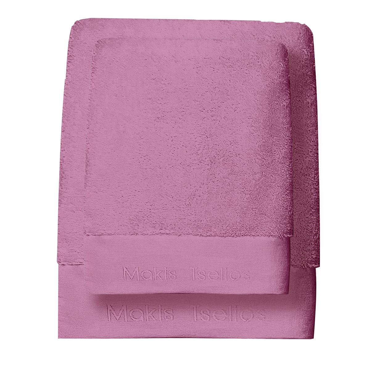 Πετσέτες Μπάνιου (Σετ 3τμχ) Makis Tselios Feel 10 Lavender