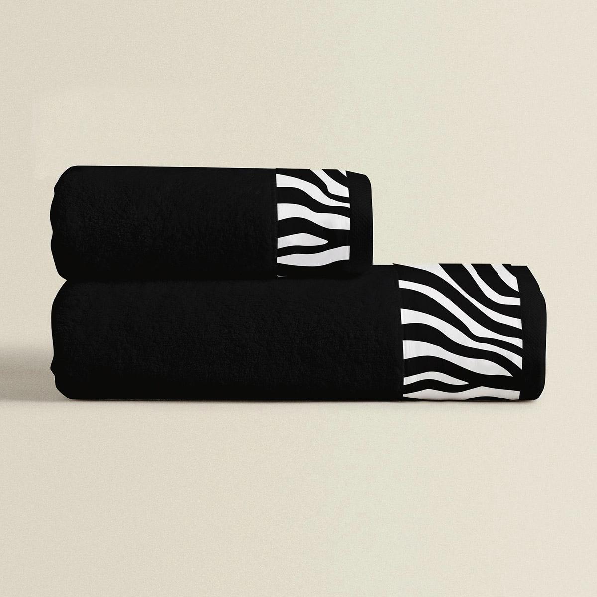 Πετσέτες Μπάνιου (Σετ 3τμχ) Makis Tselios Zebra