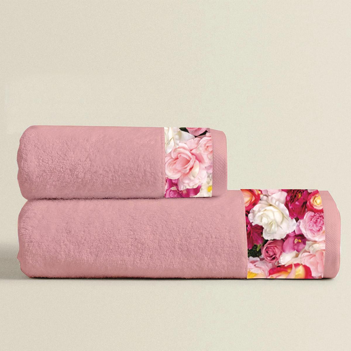 Πετσέτες Μπάνιου (Σετ 3τμχ) Makis Tselios Flowers