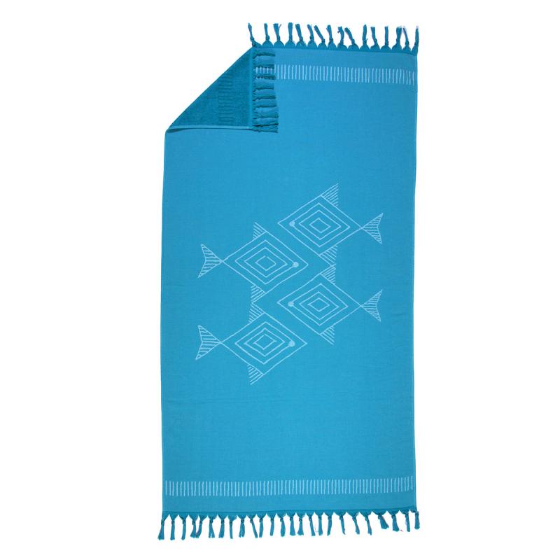 Πετσέτα Θαλάσσης - Παρεό Nef-Nef Fishes Way