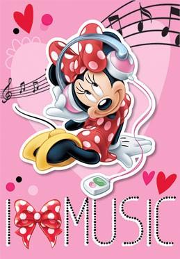 Παιδικό Χαλί (133x190) Disney By Vasilas Minnie MK 07