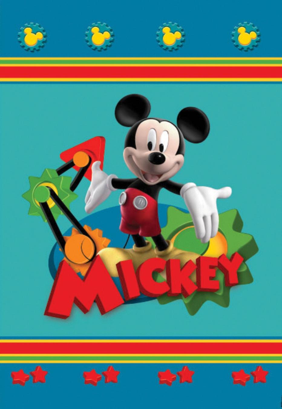 Παιδικό Χαλί (140x200) Disney By Vasilas Club House 19