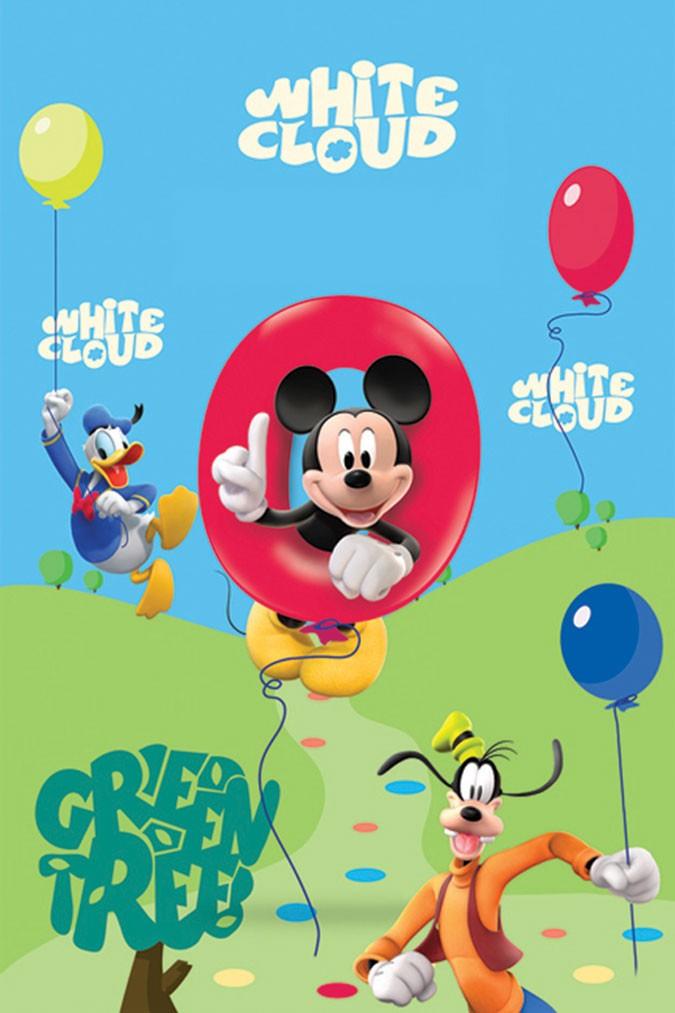 Παιδικό Χαλί (140×200) Disney By Vasilas Club House 25