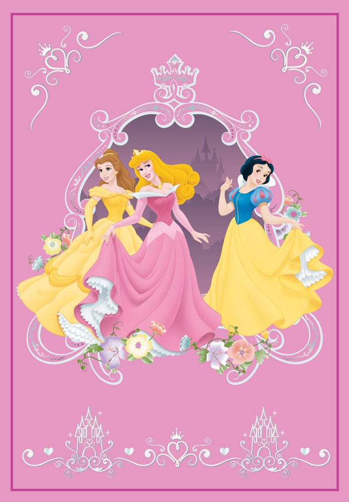 Παιδικό Χαλί (160x230) Disney By Vasilas Princess 103