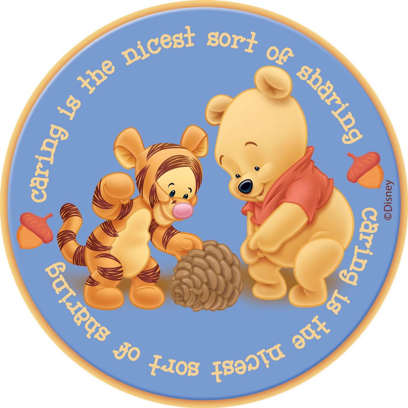 Παιδικό Χαλί (140x140) Disney By Vasilas Baby Pooh 407