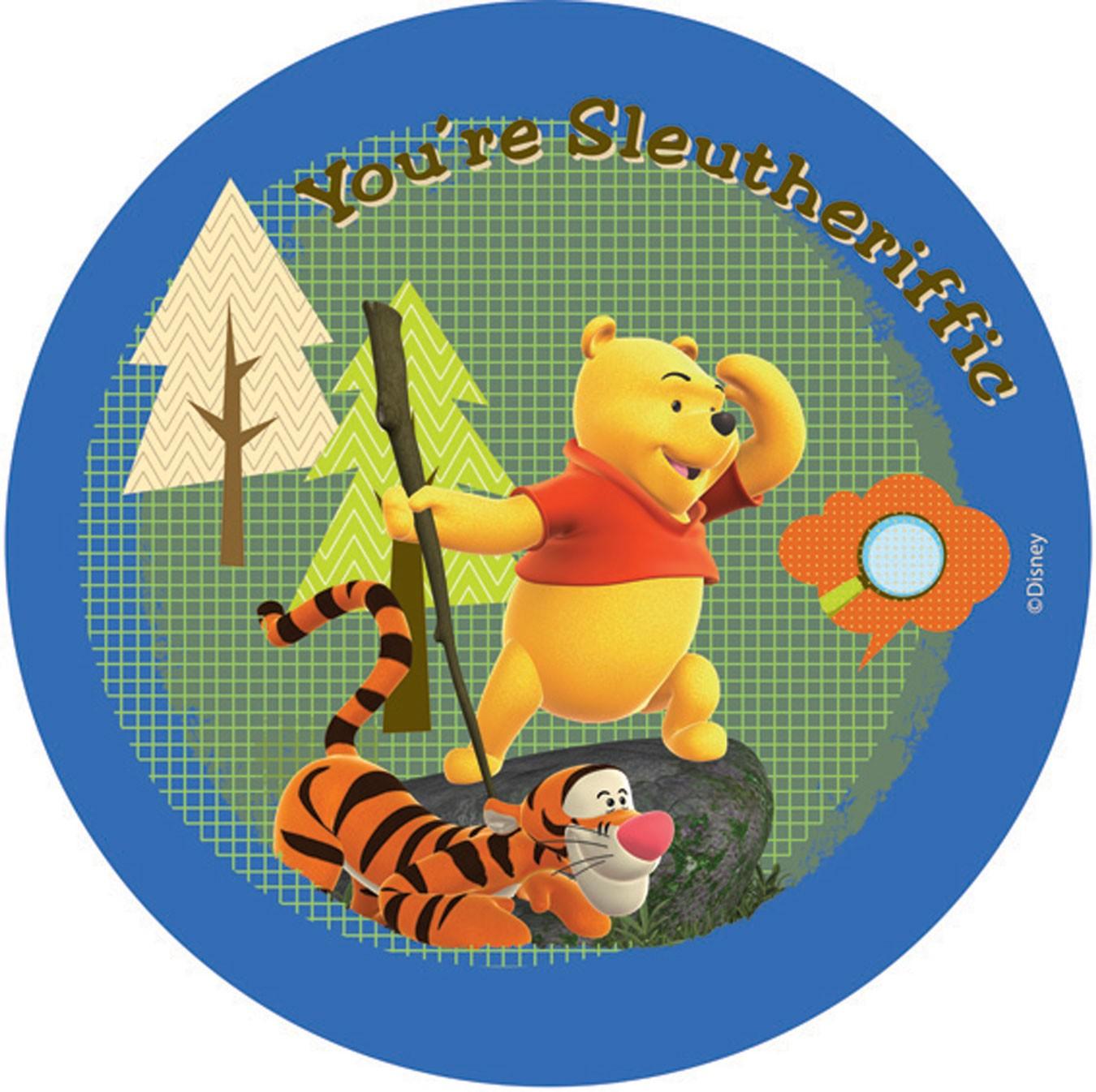 Παιδικό Χαλί (140x140) Disney By Vasilas Tiger & Pooh 604