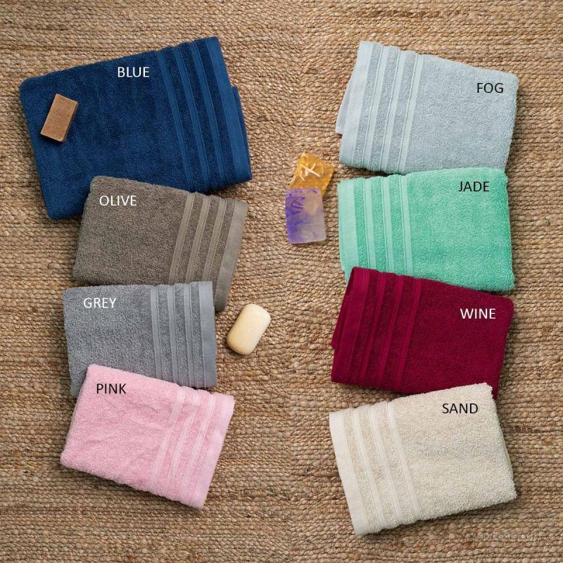 Πετσέτες Μπάνιου (Σετ 3τμχ) Palamaiki Towels Beren