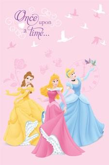 Παιδικό Χαλί (100x150) Disney By Vasilas Princess 88542