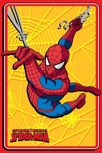 Παιδικό Χαλί (120×168) Disney By Vasilas Spiderman 88422