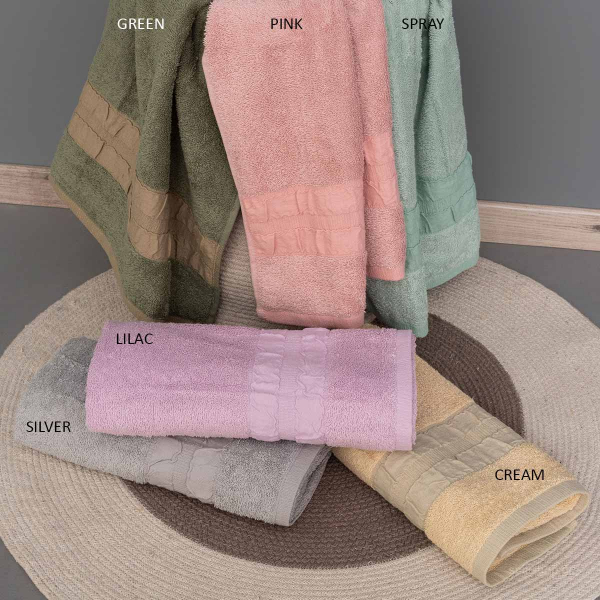 Πετσέτα Σώματος (70x140) Palamaiki Towels Cactus