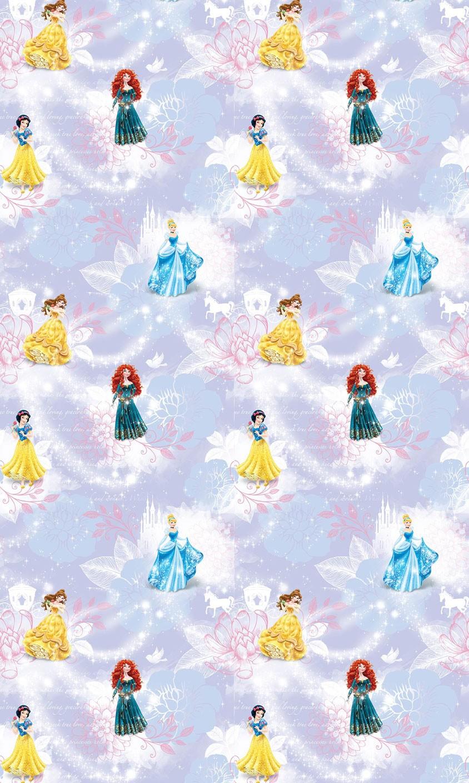 Παιδική Κουρτίνα (140x290) Disney Princess PR014 Purple