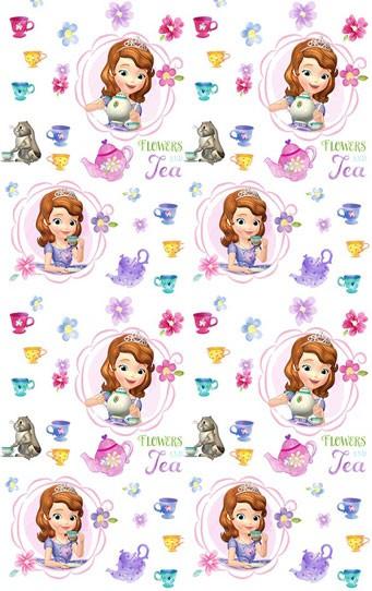 Παιδική Κουρτίνα (140×290) Disney Sofia SF001 White