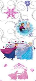 Παιδική Κουρτίνα (140×290) Disney Frozen FR002 White