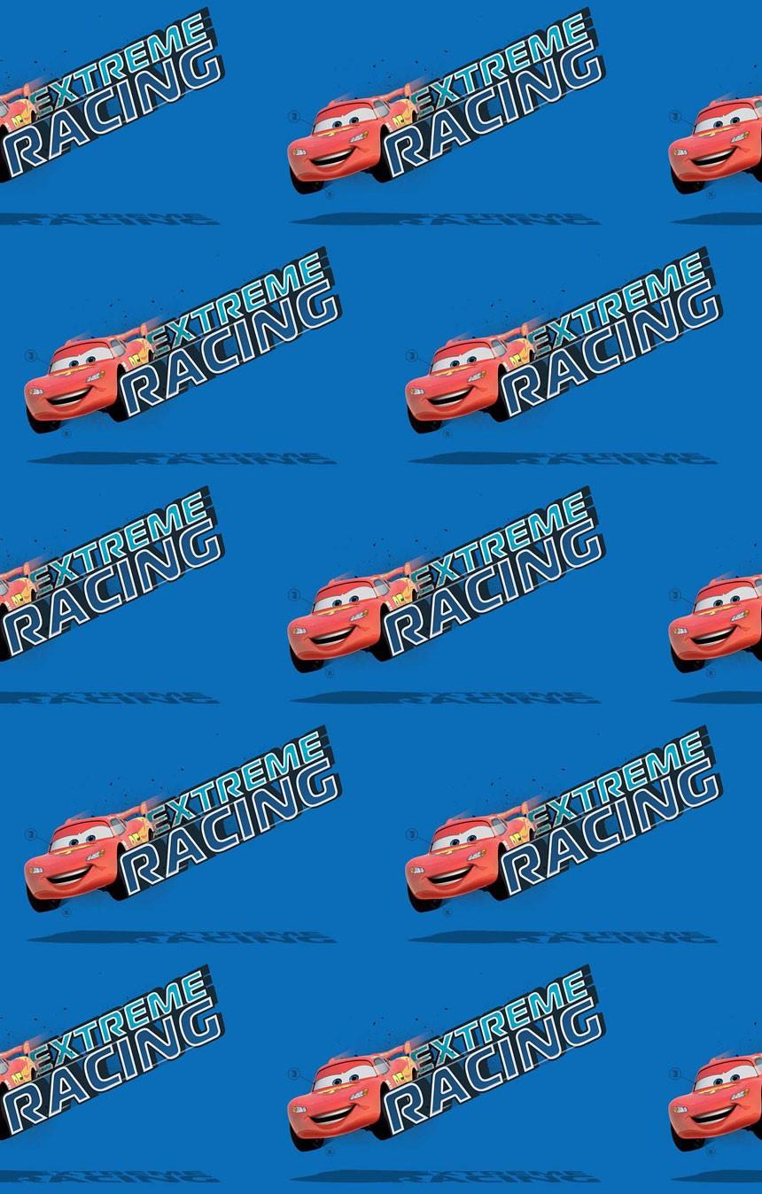 Παιδική Κουρτίνα (140x290) Disney Cars CA104 Blue
