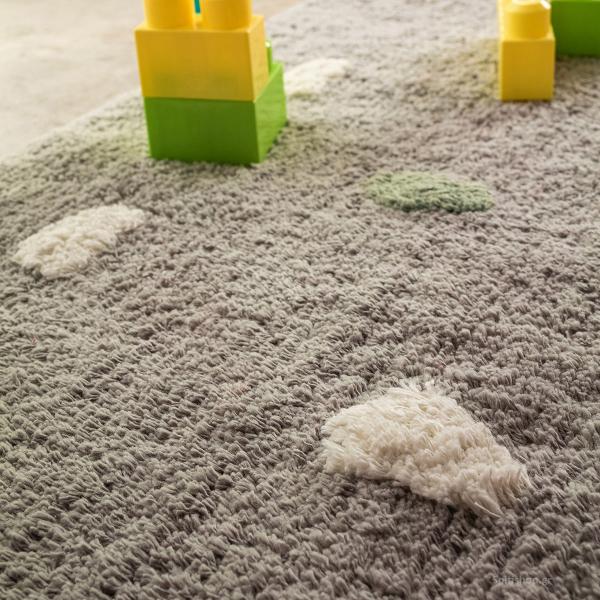 Παιδικό Χαλί (120x170) Gofis Home Fluffy Grey 113/15