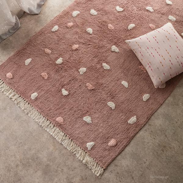 Παιδικό Χαλί (120x170) Gofis Home Fluffy Peach 113/25