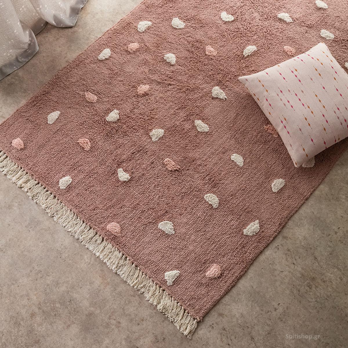 Παιδικό Χαλί (120×170) Gofis Home Fluffy Peach 113/25