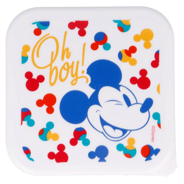 Φαγητοδοχεία (Σετ 3τμχ) Stor Mickey Mouse 60138