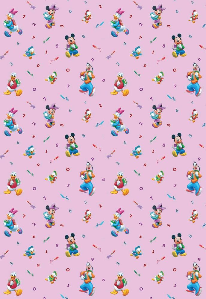 Παιδική Κουρτίνα (140x290) Disney Schoolfun 34
