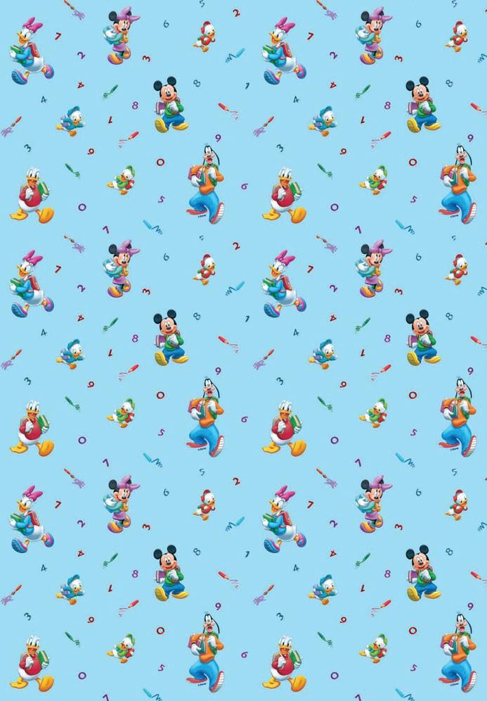 Παιδική Κουρτίνα (140x290) Disney Schoolfun 38