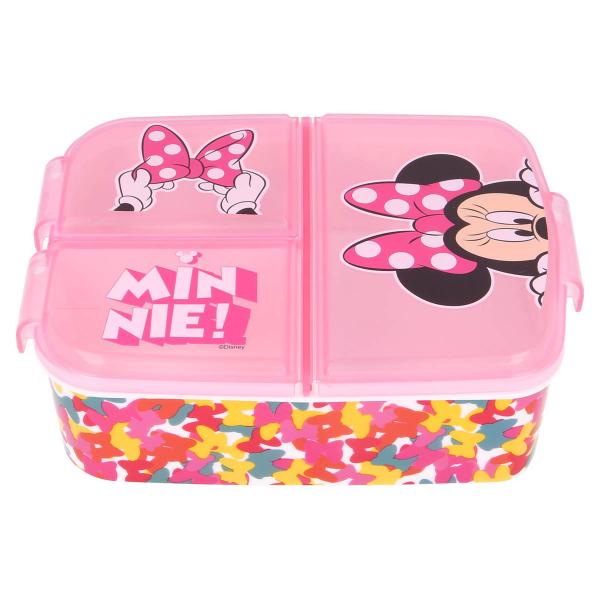 Φαγητοδοχείο Με Χωρίσματα Stor Minnie Mouse 51120