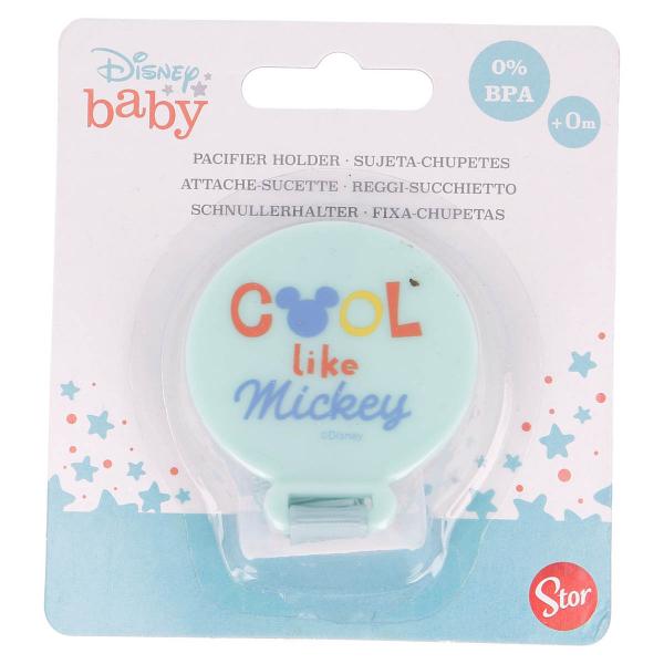 Κλιπ Πιπίλας Stor Mickey Mouse 13023