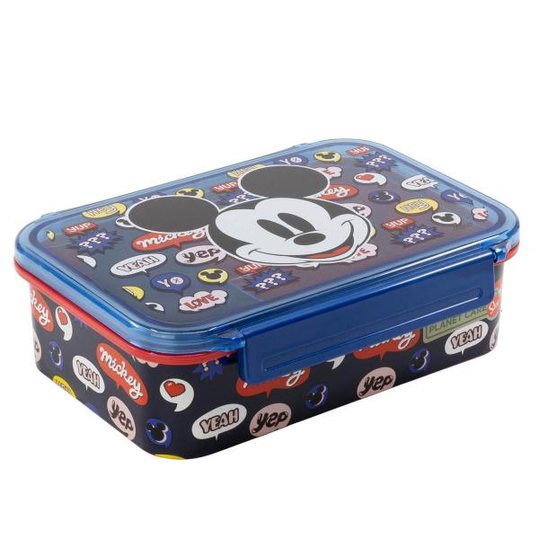 Φαγητοδοχείο 790ml Με Καπάκι Stor Mickey Mouse 41003