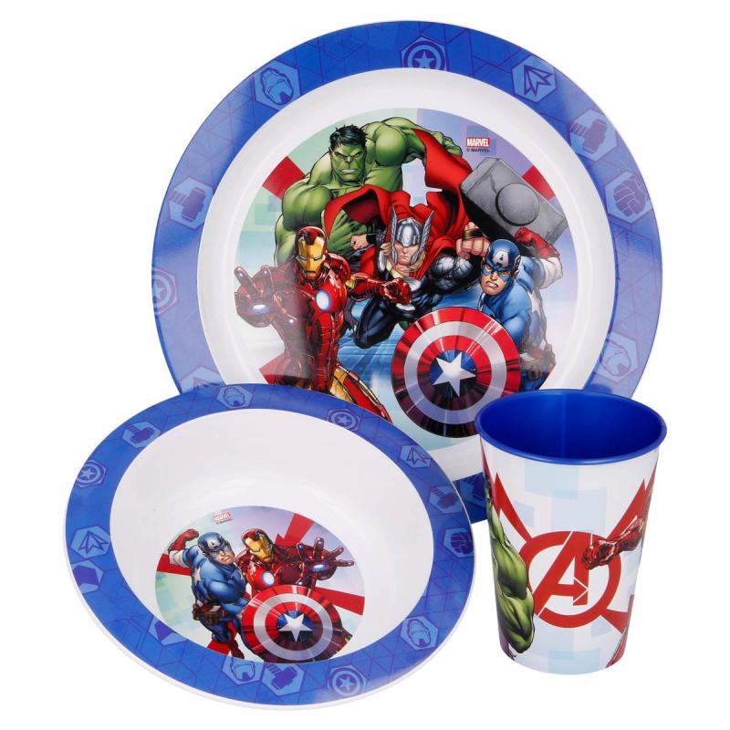 Παιδικό Σετ Φαγητού 3τμχ Stor Avengers 57749