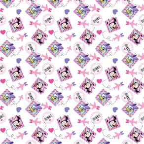 Κουρτίνα Μπάνιου Υφασμάτινη Disney CH011 White