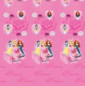 Κουρτίνα Μπάνιου (180x180) Disney PR015 Pink