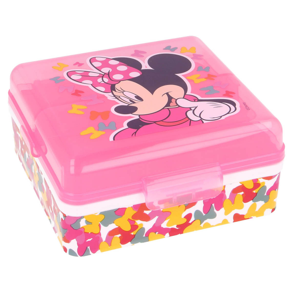 Φαγητοδοχείο Με Χωρίσματα Stor Minnie Mouse 51183