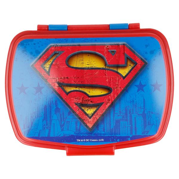 Φαγητοδοχείο Με Καπάκι Stor Superman 85675
