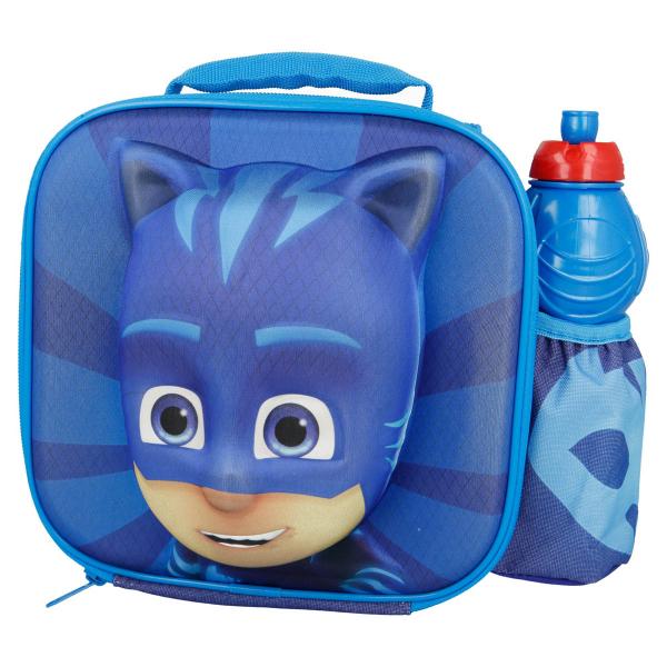 Ισοθερμική Τσάντα Φαγητού + Παγούρι Stor PJ Masks 01989