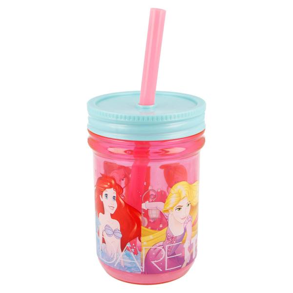 Ποτήρι Με Καλαμάκι Stor Disney Princess 33202