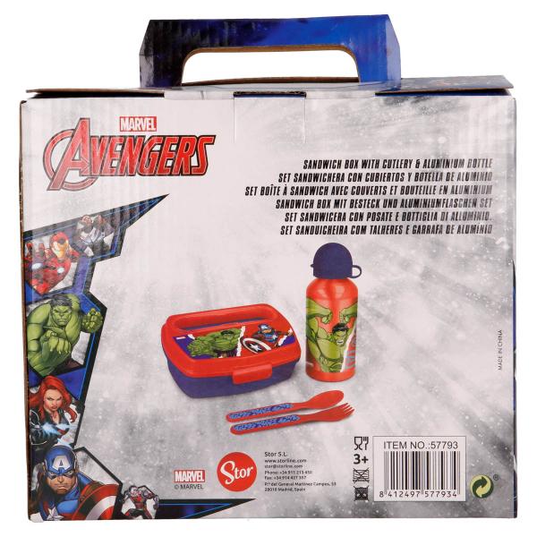 Παιδικό Σετ Φαγητού 4τμχ - Lunchset Stor Avengers 57793