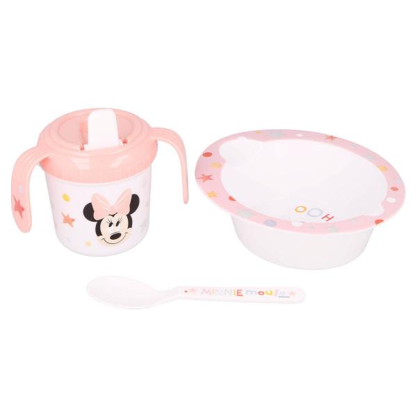 Παιδικό Σετ Φαγητού 3τμχ Stor Minnie Mouse 13107