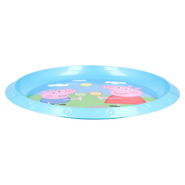 Πιάτο Βαθύ Stor Peppa Pig 52812 Blue