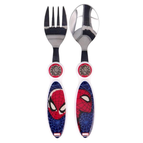 Κουτάλι + Πιρούνι (Σετ) Stor Spiderman 61318