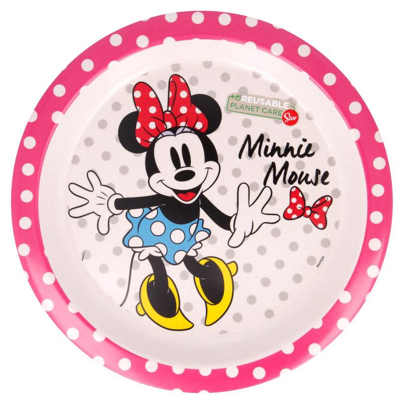 Πιάτο Βαθύ Stor Minnie Mouse 01281