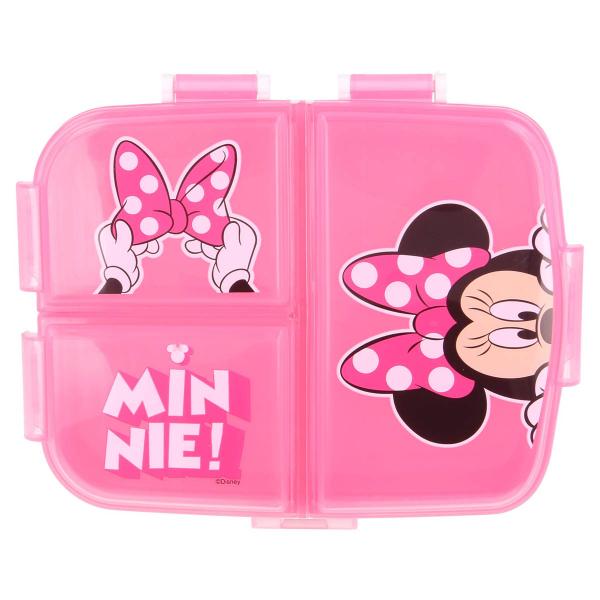 Φαγητοδοχείο Με Χωρίσματα Stor Minnie Mouse 51199