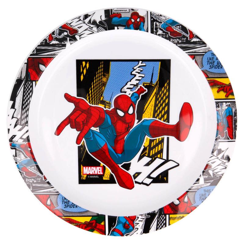 Πιάτο Βαθύ Stor Spiderman 51347